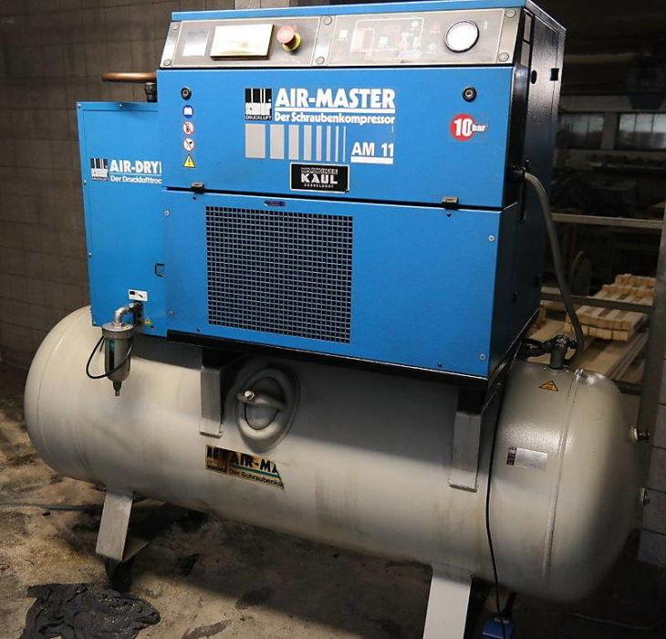 Skrutkový kompresor Schneider AirMaster AM11